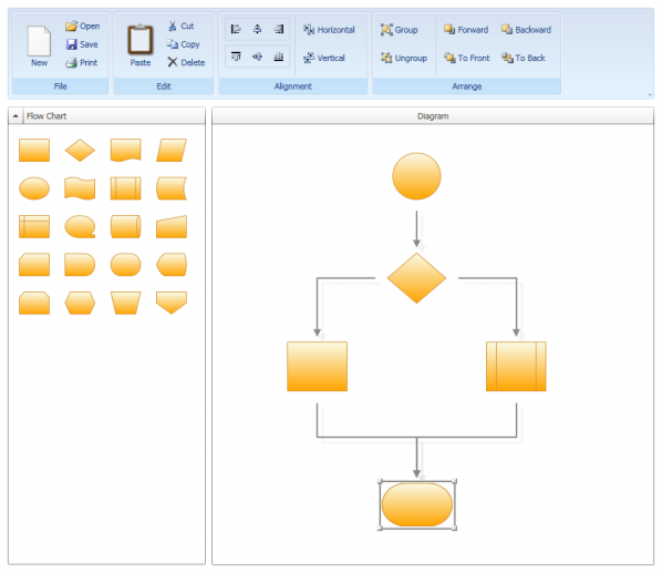 Wpf diagram designer part 4 codeproject for Openoffice flowchart template