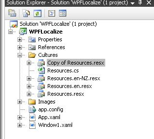 Copy default Resource file to add new culture