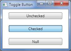 How to best represent a togglebutton (representing on/off) with.