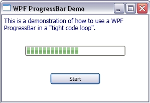 Wpf progress bar not updating