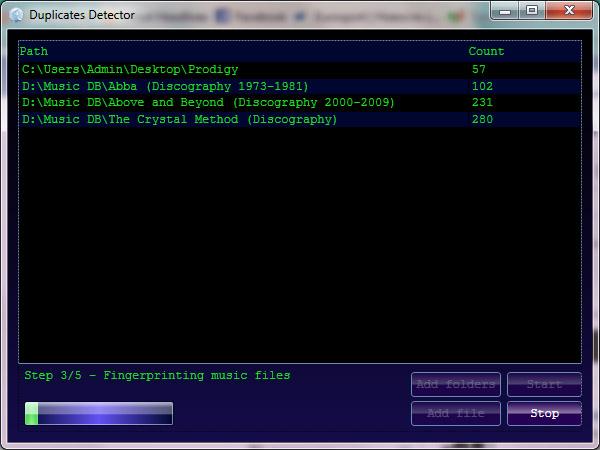 Duplicate songs detector via audio fingerprinting - CodeProject