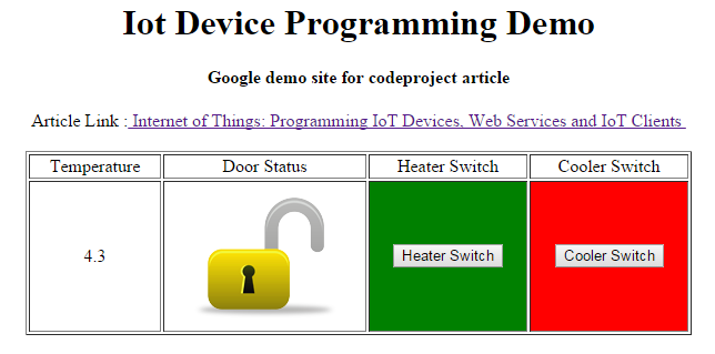 Internet of Things: Programming IoT Devices, Web Services