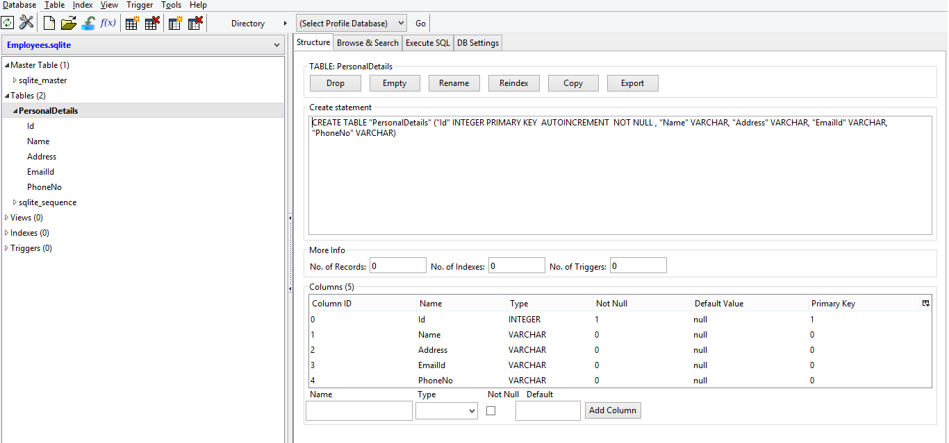 Use existing sqlite database in Windows phone 8 1 - CodeProject