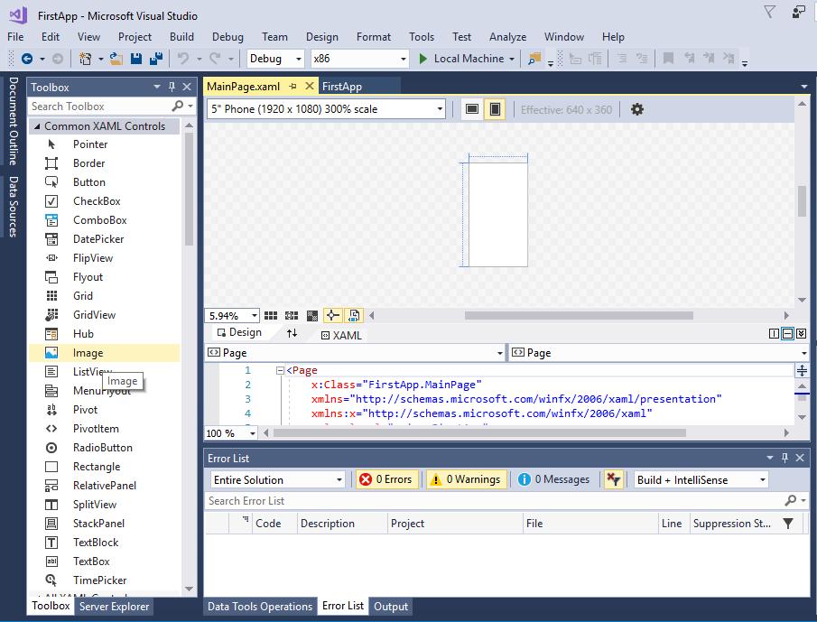 Programming Windows 10: UWP Focus (2 of N) - CodeProject