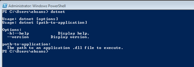 Building First Console Application using Command Prompt in