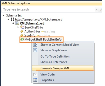 Xml instance generator.