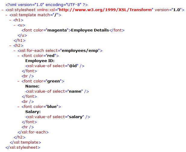 applying xslt stylesheet to an xml file at runtime codeproject