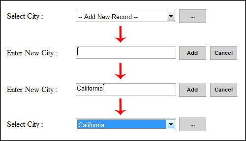 Insert and bind records from dropdownlist using ajax update panel