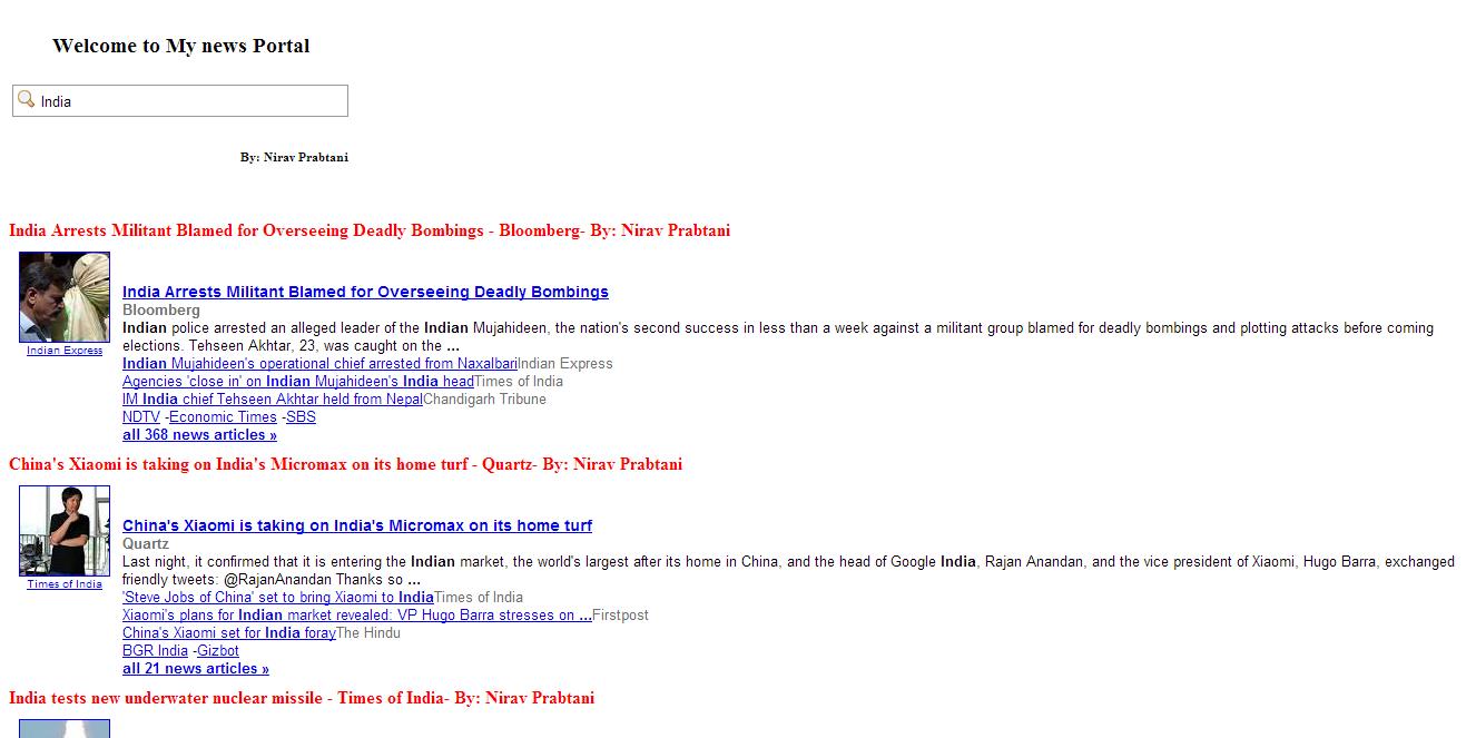 Simple Google News API - CodeProject