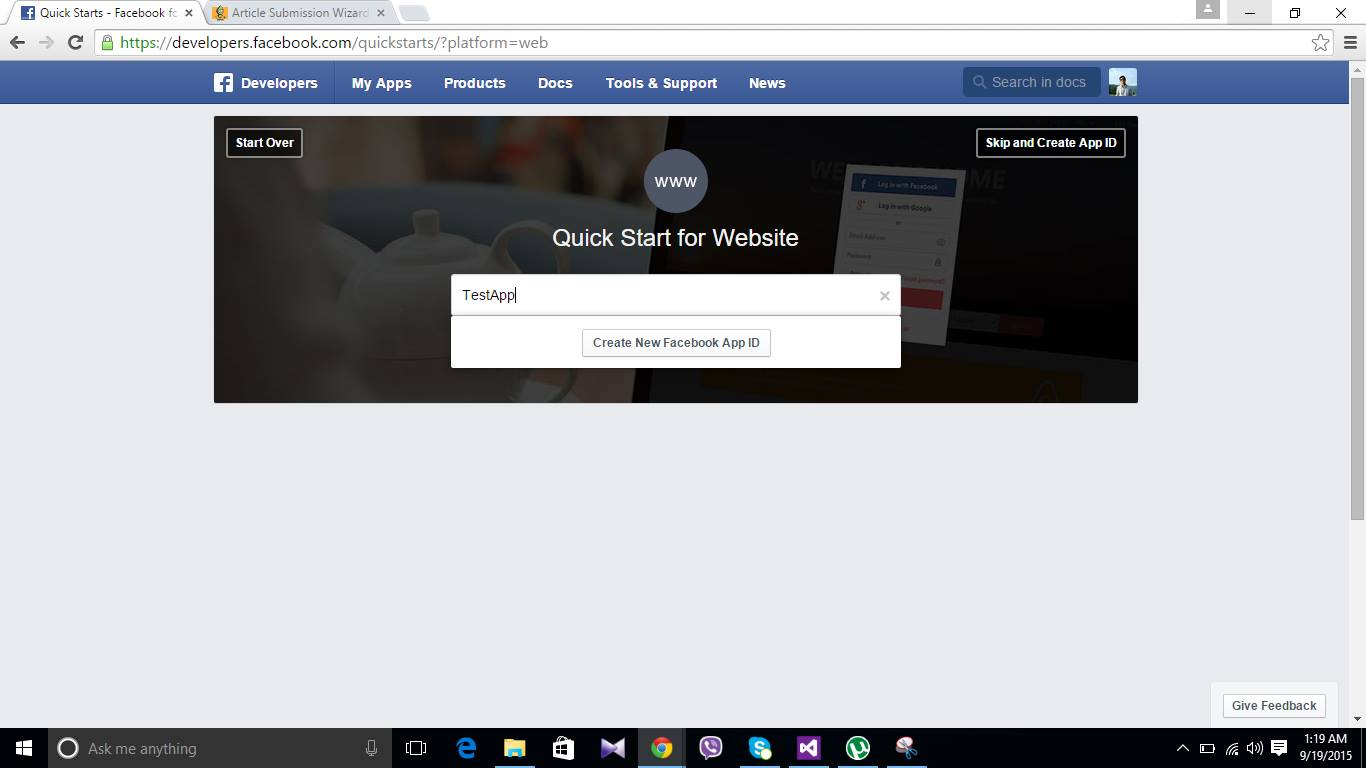 How to Integrate Facebook Login into a Cordova App - CodeProject