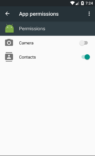 Manage App Permissions on Android Marshmallow 6 - CodeProject