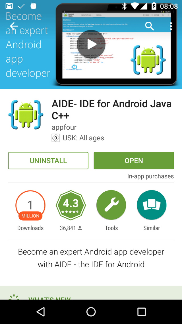 Develop Apps on Your Android Device with AIDE - CodeProject