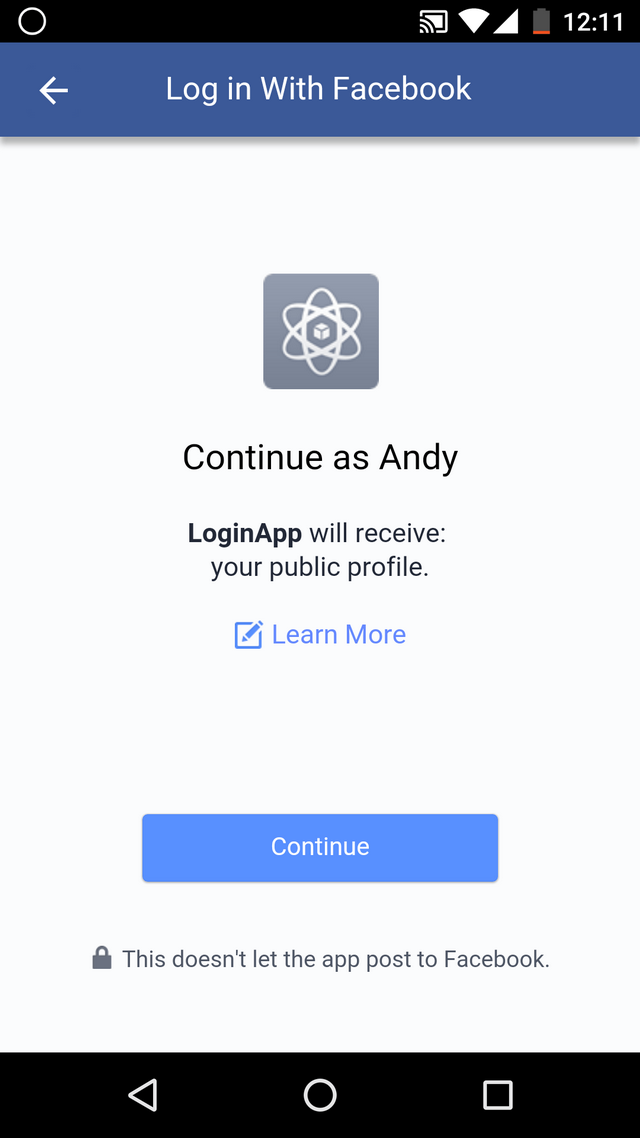 Adding Facebook Login To Android App Codeproject