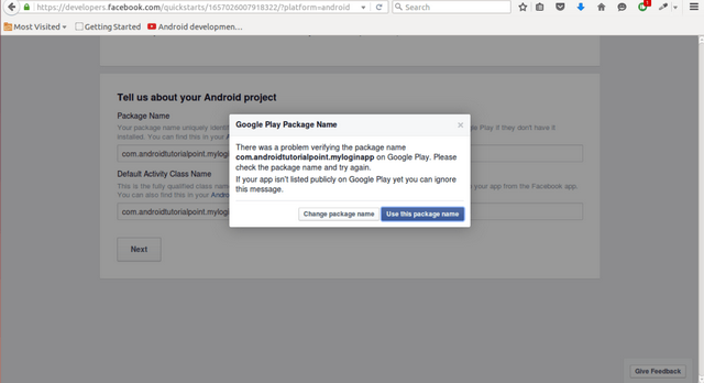 Adding Facebook Login to Android App - CodeProject