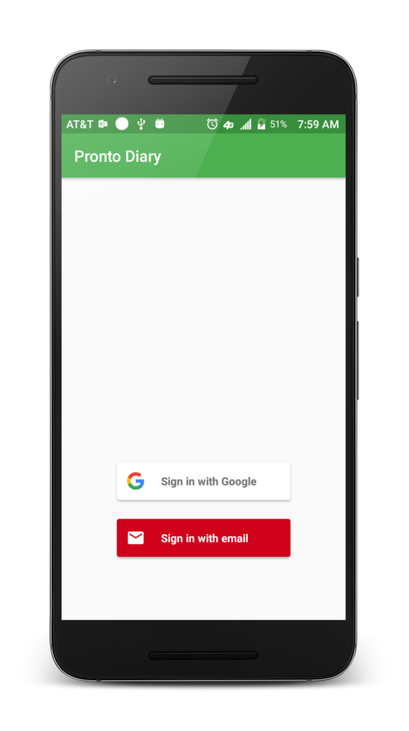 Firebase Authentication By Example With Android Codeproject