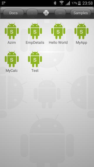 Mobile App development using DroidScript App - CodeProject