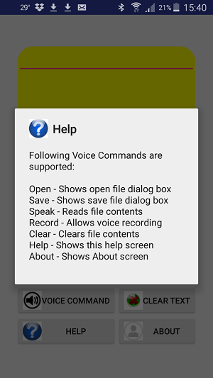 Integrating Text To Speech/Speech To Text in an Android App - Glink