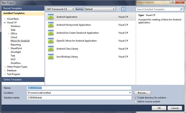 mono for android visual studio 2010 free download