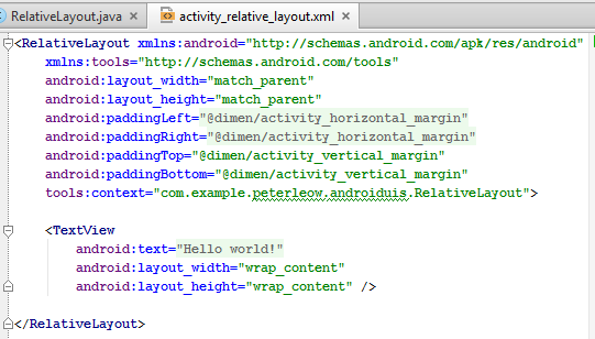 Android UI Layouts and Controls - CodeProject