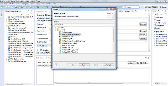 Article 6 Menus, Multiple Intents, Resource Management and Data
