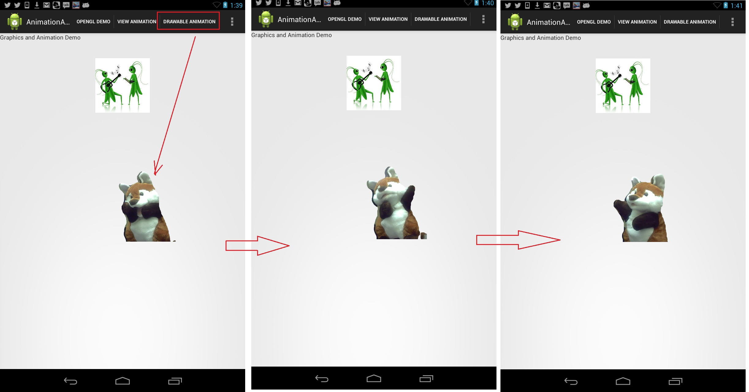 Article 11 - Beginner's Guide to Android Animation/Graphics