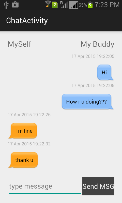 Designing Android Chat Bubble Chat Ui Codeproject