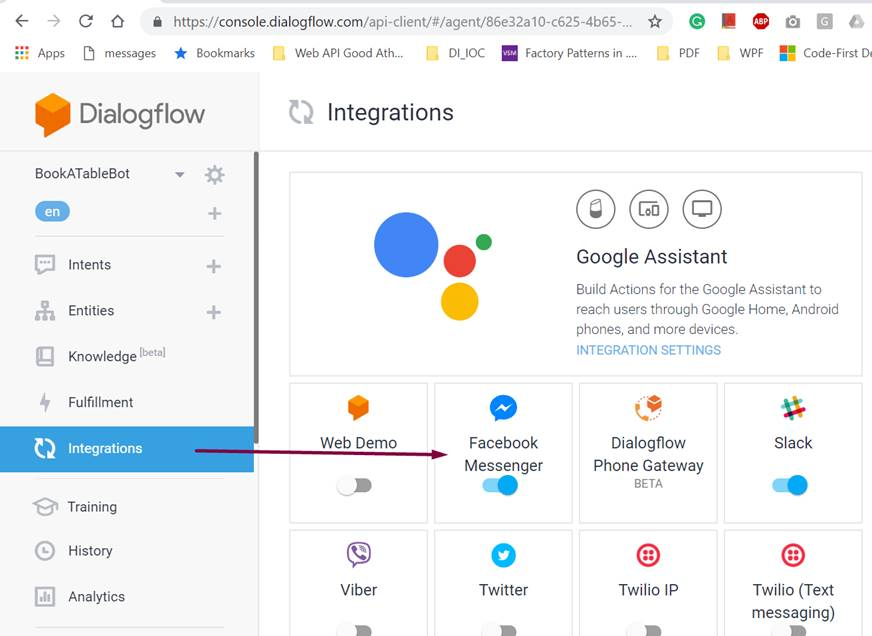 Your first Chatbot using Microsoft's Bot Framework and Dialogflow
