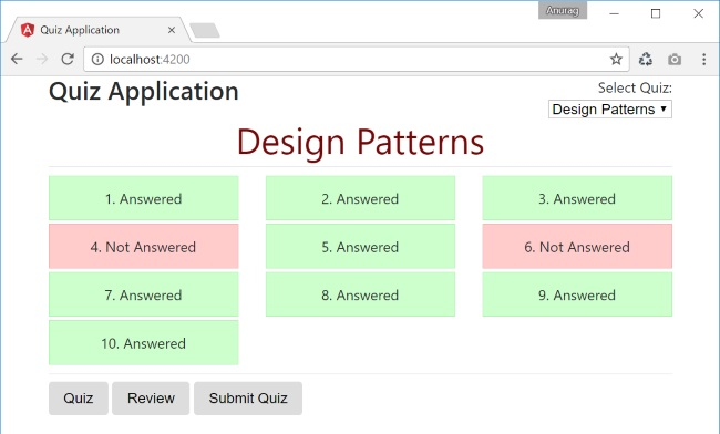 Quiz Application in Angular - CodeProject