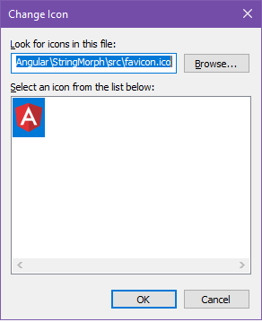 Figure 3 shows the dialog box where you assign an icon to the shortcut.