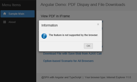 PDF Document Display and File Downloads with Angular, AngularJS, and