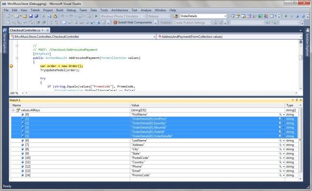 Exploiting Microsoft MVC vulnerabilities using OWASP O2 Platform