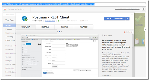 POSTMan is Required - CodeProject