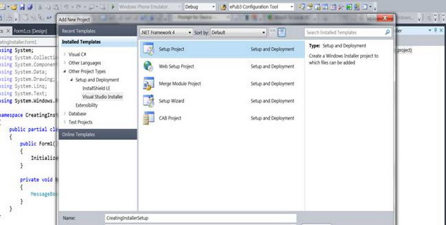 Creating an MSI/Setup Package for C# Windows Application