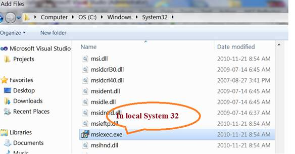 Creating an MSI/Setup Package for C# Windows Application Using a