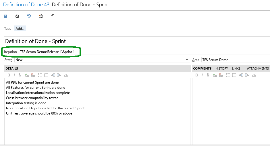 Scrum Definition of Done and Team Foundation Server - CodeProject