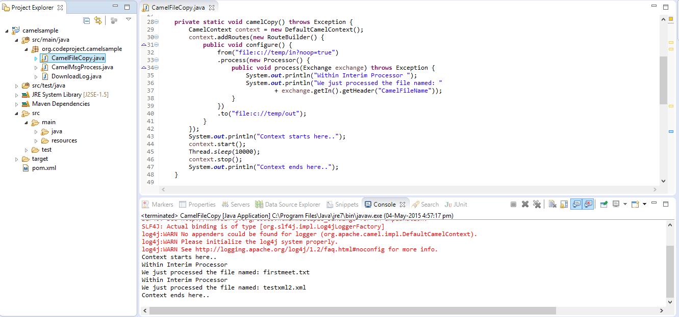 Enterprise Application Integration using Apache Camel - CodeProject