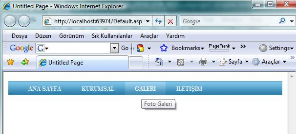 Navigation menu with xml datasource (asp. Net server control.