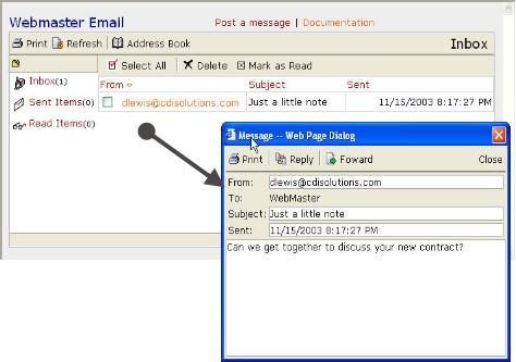 Complete ASP SQL Server SMTP Messaging System