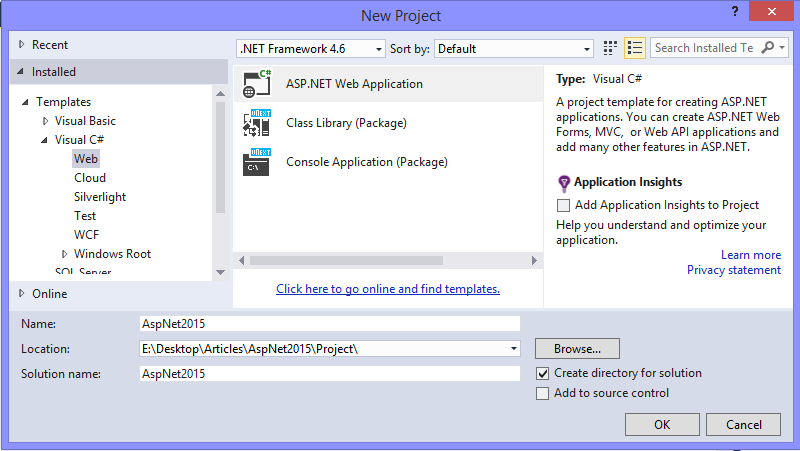 Baby Steps towards ASP.NET 5 Web Application and see What\'s New ...