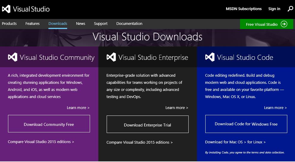 visual studio 2015 tutorial pdf