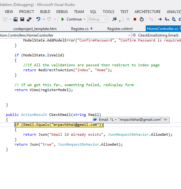 Validations in MVC - CodeProject