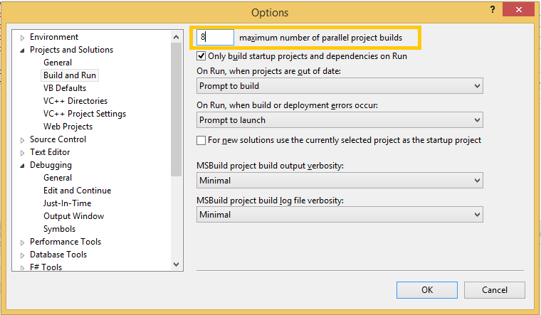 10 Tips to Improve Visual Studio Build Performance - CodeProject