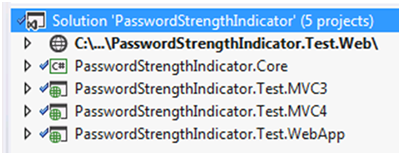 ASP NET - New Password Strength Indicator using jQuery and