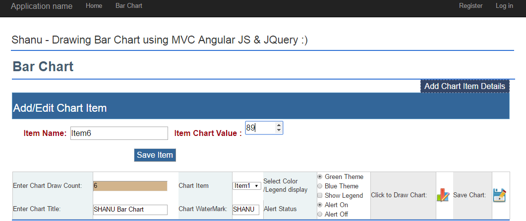Line Drawing Using Jquery : Draw mvc chart using web api angularjs and jquery