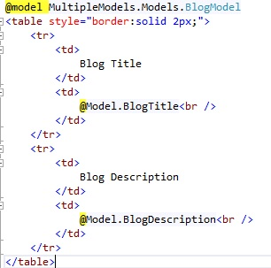 10 ways to Bind Multiple Models on a View in MVC - CodeProject