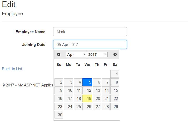 Simplest Way to Use JQuery Date Picker and Date Time Picker in ASP