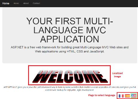 Home Page English ScreenShot