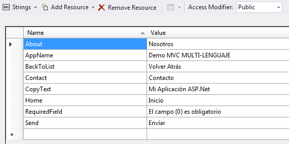Resource File Spanish