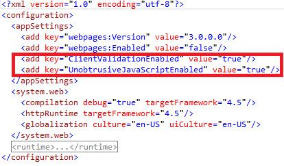 Web.Config Views Root