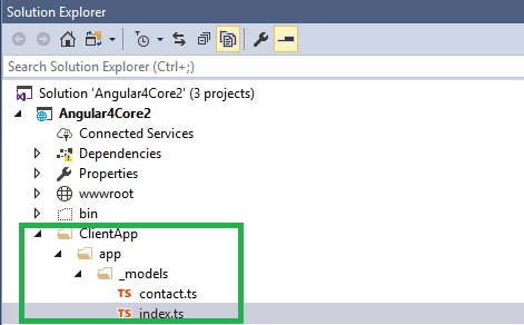 CRUD Operation using ASP NET CORE 2 and Angular 4 with